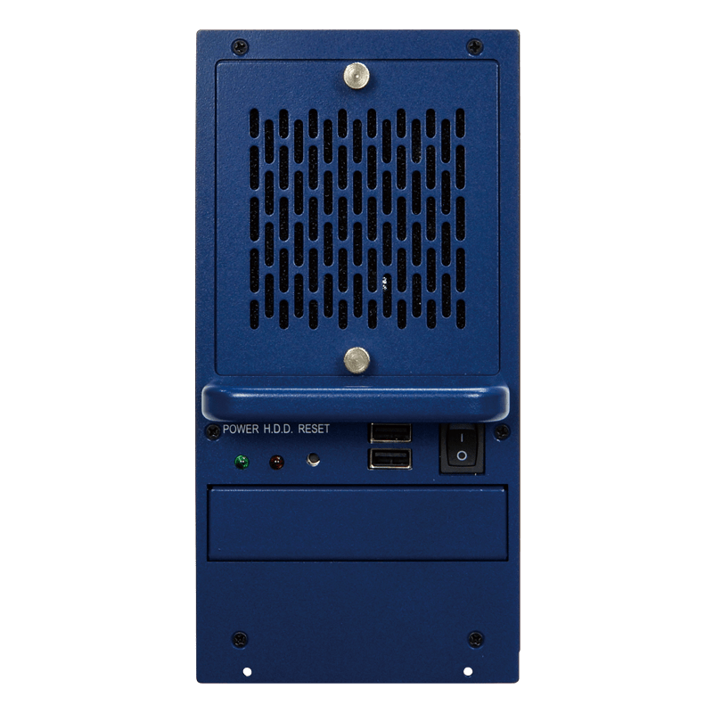 RACK-500AI-C246 AI embedded box pc