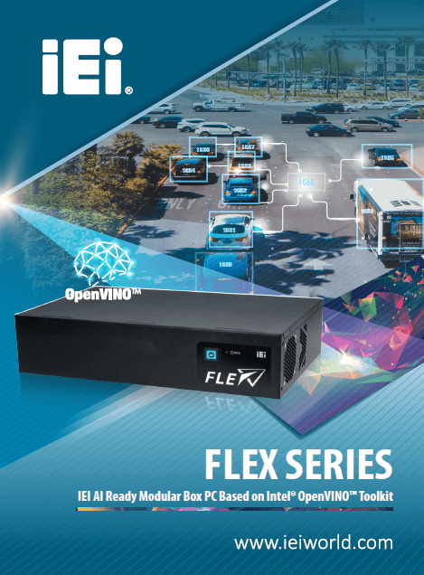 FLEX SERIES - IEI AI Ready Modular Box PC