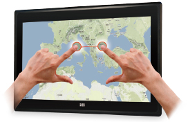 2 point touch panel pc