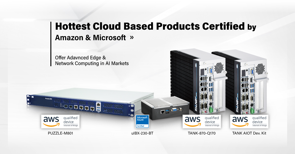 AWS and AZURE qualified devices