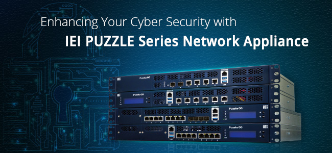PUZZLE network appliance cyber security