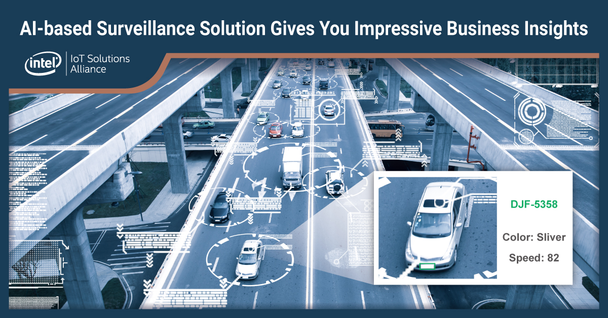 AI-based surveillance solution gives you impressive business insights