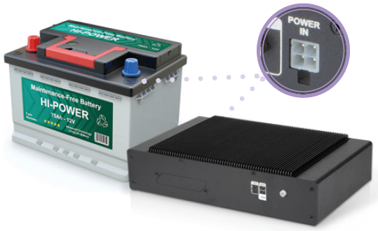 vehicle box pc power management solution