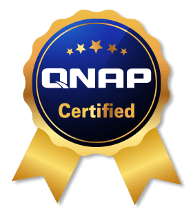 Storage server certified by QNAP