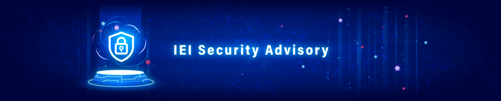 IEI Security Advisory